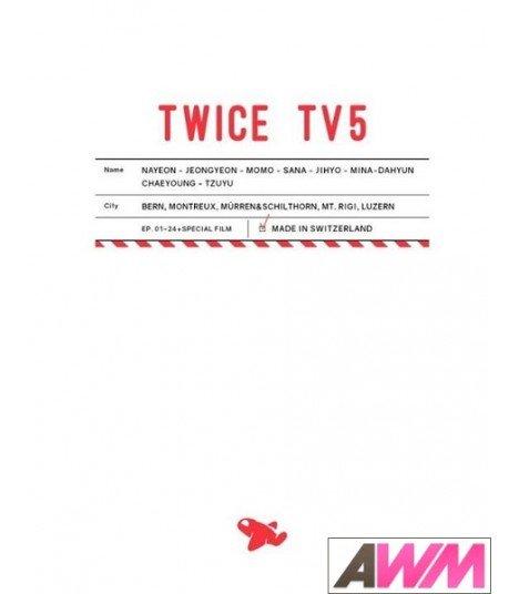 TWICE (트와이스) TWICE TV5: TWICE in SWITZERLAND (3DVD) (édition coréenne)