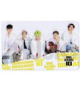 BIGBANG - Carte transparente BAND (BIGBANG 10 / TYPE B)