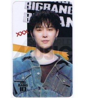 BIGBANG - Carte transparente G-DRAGON (BIGBANG 10)