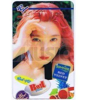RED VELVET - Carte transparente JOY (THE RED SUMMER / TYPE B)