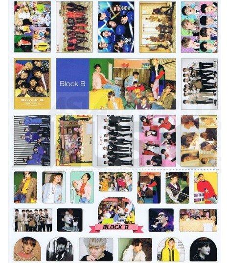 Sticker BLOCK B 003