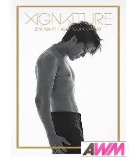 Xia (김준수) 2016 Xia 5th Asia Tour Concert - XIGNATURE (3DVD) (édition coréenne)