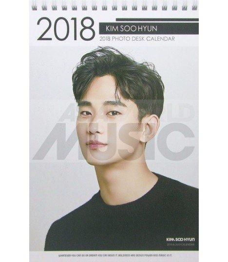 Kim Soohyun - Calendrier de bureau 2018 / 2019 (Type A)