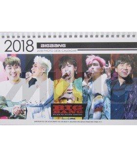 BIGBANG - Calendrier de bureau 2018 / 2019 (Type B)