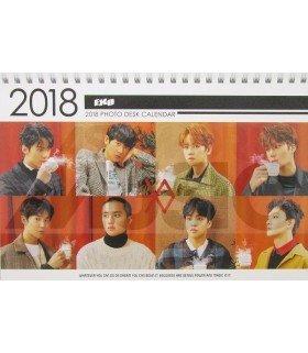 EXO - Calendrier de bureau 2018 / 2019 (Type D)