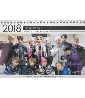 SEVENTEEN - Calendrier de bureau 2018 / 2019 (Type B)