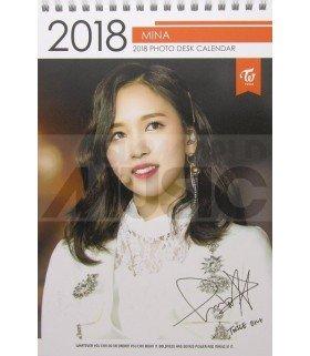 Mina (TWICE) - Calendrier de bureau 2018 / 2019 (Type B)