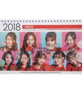 TWICE - Calendrier de bureau 2018 / 2019 (Type C)