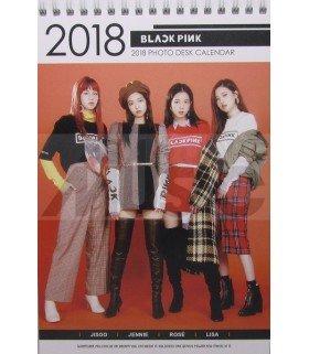 BLACKPINK - Calendrier de bureau 2018 / 2019 (Type C)