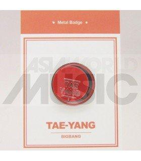 TAEYANG (BIGBANG) - Pin's métal (Import Corée)