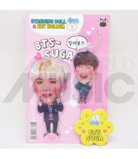 Suga (BTS) - Standing Doll & Porte-clé (Type C)