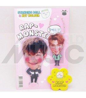 Rap Monster (BTS) - Standing Doll & Porte-clé (Type B)