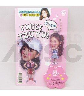 Tzuyu (TWICE) - Standing Doll & Porte-clé (Type B)