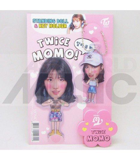Momo (TWICE) - Standing Doll & Porte-clé (Type B)