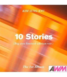 Kim Sung Kyu (김성규) Vol. 1 - 10 Stories (Version Big Size) (édition limitée coréenne)