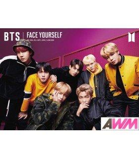BTS (防弾少年団) FACE YOURSELF (Type B / ALBUM+DVD) (édition limitée japonaise)