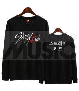 Stray Kids - Sweat STRAY KIDS LOGO (Black / Coupe unisexe)