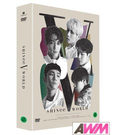 SHINee (샤이니) SHINee WORLD V in Seoul DVD (2DVD) (édition coréenne)