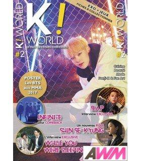 K-World - Magazine français - numéro 2 (Mars / Avril 2018)