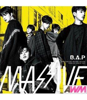 B.A.P - MASSIVE (ALBUM) (édition normale japonaise)