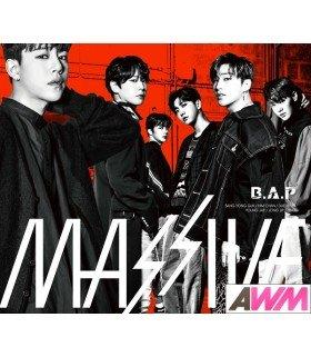B.A.P - MASSIVE (Type B / ALBUM+GOODS) (édition limitée japonaise)