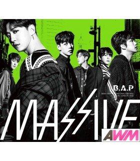 B.A.P - MASSIVE (Type A / ALBUM+DVD) (édition limitée japonaise)