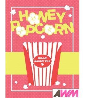 Honey Popcorn (허니팝콘) Mini Album Vol. 1 - BIBIDI BABIDI BOO (édition coréenne)