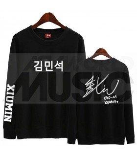 EXO - Sweat EXO SIGNATURE - XIUMIN (Black / Coupe unisexe)
