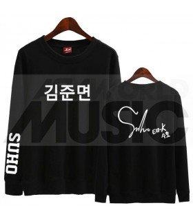 EXO - Sweat EXO SIGNATURE - SUHO (Black / Coupe unisexe)