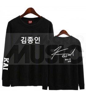 EXO - Sweat EXO SIGNATURE - KAI (Black / Coupe unisexe)