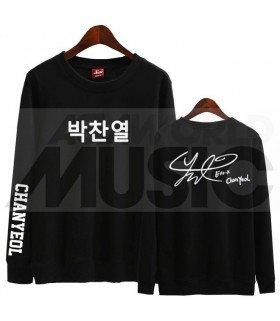 EXO - Sweat EXO SIGNATURE - CHANYEOL (Black / Coupe unisexe)