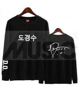 EXO - Sweat EXO SIGNATURE - D.O. (Black / Coupe unisexe)