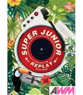 Super Junior (슈퍼주니어) Vol. 8 Repackage - REPLAY SPECIAL EDITION (édition limitée coréenne)