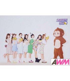 Affiche officielle OH MY GIRL - Banana Allergy Monkey (Version B)