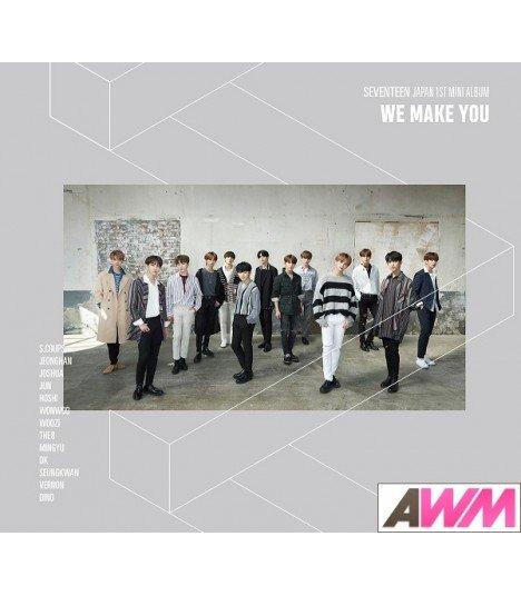 SEVENTEEN - Japan 1st Mini Album 'WE MAKE YOU' (Type A / CD + PHOTOBOOK) (édition limitée japonaise)
