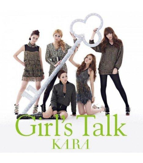 Kara - Girl's Talk (Jacket A)(ALBUM+DVD)(First Press)(édition japonaise)