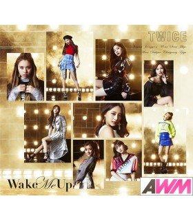 TWICE - Wake Me Up (Type B / SINGLE+DVD) (édition limitée japonaise)