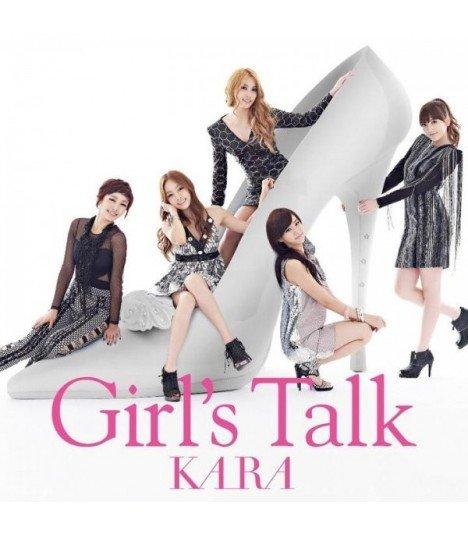 Kara - Girl's Talk (Jacket C)(ALBUM+DVD)(First Press)(édition japonaise)