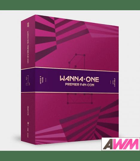 WANNA ONE (워너원) Wanna One Premier Fan-Con (3DVD) (édition coréenne)