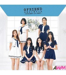 GFRIEND - Kyo Kara Watashitachi wa ~GFRIEND 1st BEST~ (Type B / ALBUM+DVD) (édition limitée japonaise)