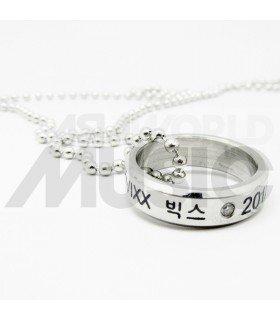 VIXX - Collier Bague VIXX 2012.05.24 (Double collier)