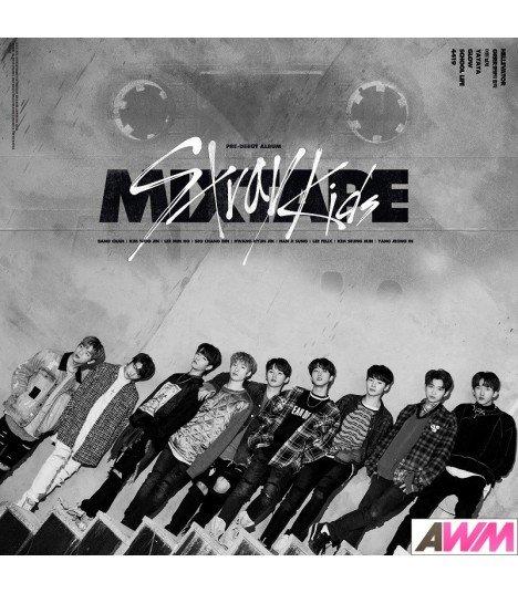 Stray Kids (스트레이 키즈) Debut Album - MIXTAPE (édition coréenne)