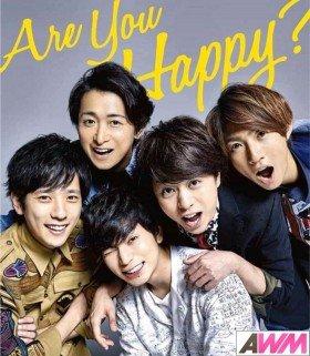 Arashi - Are You Happy? (ALBUM + DVD) (édition limitée japonaise)