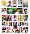 TWICE - Set de stickers JEONGYEON 001