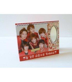 Calendrier 2012 - Choshinsei (Supernova) (Miroir+Sticker)