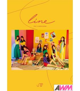 UNI.T (유니티) Mini Album Vol. 1 - line (édition coréenne)