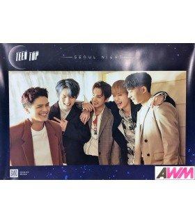 Affiche officielle TEEN TOP - SEOUL NIGHT (Version B)