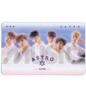 ASTRO - Carte transparente BAND (DREAM PART 01 / NIGHT)