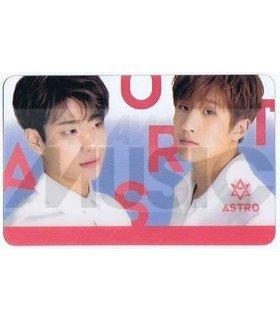 ASTRO - Carte transparente MJ X JIN JIN (DREAM PART 01)