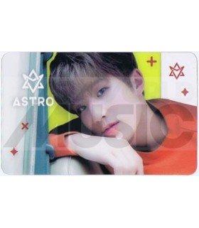 ASTRO - Carte transparente JIN JIN (NAVER X DISPATCH PHOTOSHOOT)